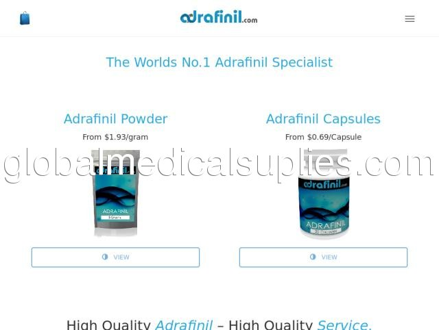 Buy Adrafinil Powder Online | Global No 1 → ADRAFINIL COM